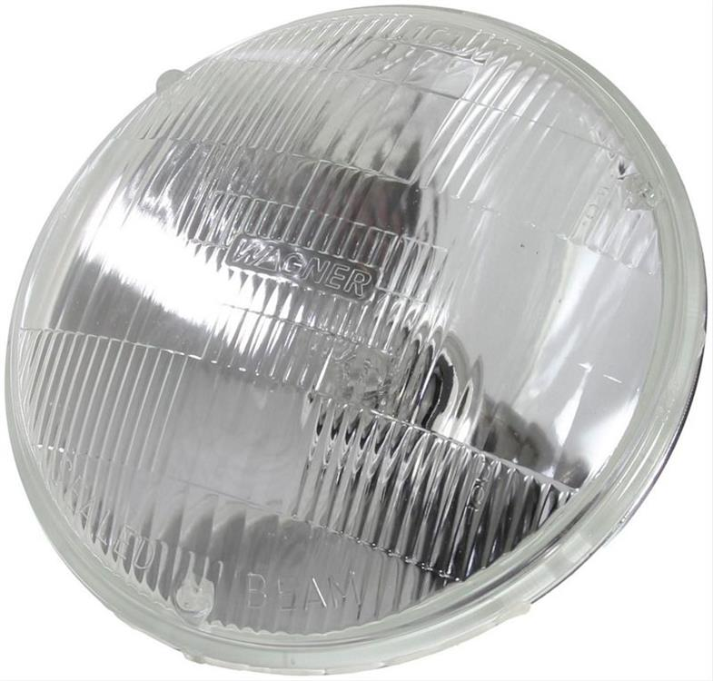 headlamp sealed beam, high, 5 3/4""