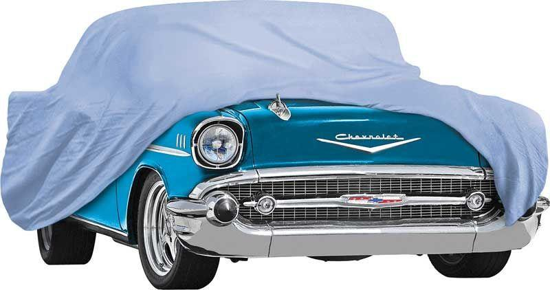 1955-56 CHEVROLET DIAMOND BLUE CAR COVER - ALL MODELS  - ALL MODELS (EXEC WAGONS) - BLUE