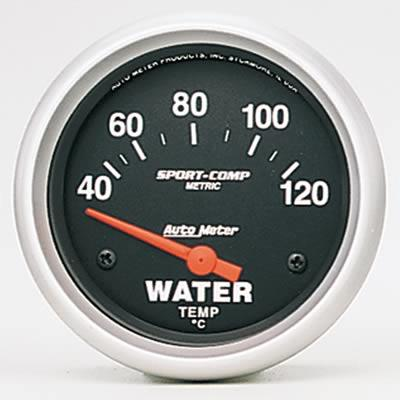 Water temperature, 52.4mm, 40-120 °C, electric