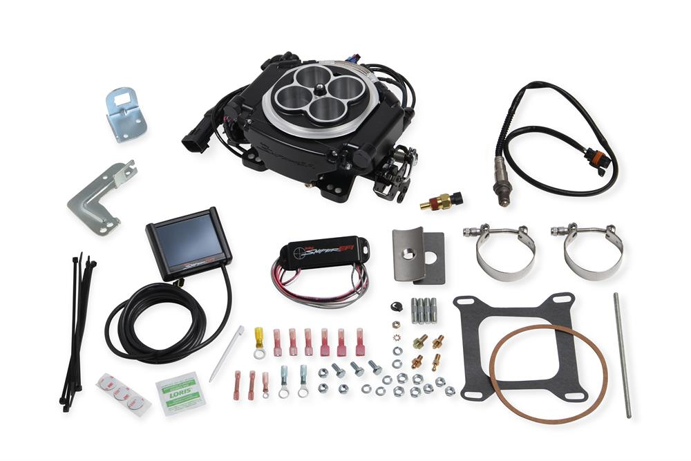 Fuel Injection System, Holley Sniper EFI Self-Tuning, Cast