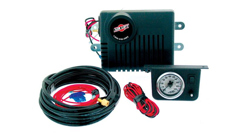 Air Shock Controller, Air Compressor, Suspension, Max.100 psi
