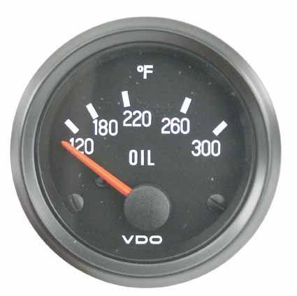 Oil Temperature Gauge 52mm 300f - Dalhems