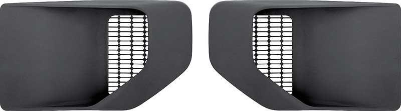 1970-81 TRANS AM FENDER LOUVERS-PAIR