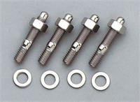 """1.25"""" Moroso spacer SS carburetor stud kit"""