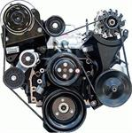 Accessory Drive System, Front Serpentine Drive, No Air Conditioning, Power Steering, Chevrolet, Big Block, Kit