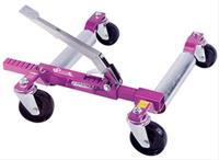 Go Jack System, Car Jack, Movable, Foot Pump, Purple, Fits Tires up to 13 in., Left Hand