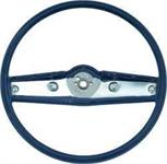 1969-70 STEERING WHEEL (DARK BLUE)