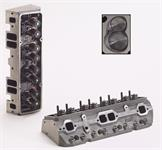 Cylinder Head, Iron Eagle Platinum, Assembled, 64cc Chamber, 200cc Intake Runner, Chevy, 327, 350, 400, Each