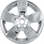 navkapsel krom, Bully Imposter Wheel Skins, ABS Plastic, Chrome, 20 in., Dodge, Ram, Set of 4