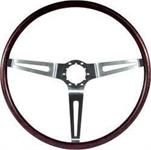 """1969-70 ROSEWOOD STEERING WHEEL - 16"""""""
