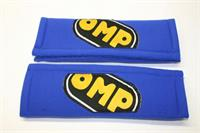 PAIR BELT PADS BLUE 3""