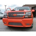 CHEVROLET AVALANCHE BUMPER COVER [UNCLADDED BODY ONLY] [LESS LIGHTS & GRILLE] 2003-2005