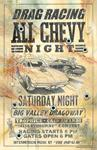 "Old School Racing Signs in Steel""All Chevy"""