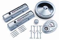 Engine Dress-Up Kit, Chrome, Tall Valve Covers/Air Cleaner/Timing Cover/Breather,