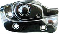 CONVERTIBLE LEFT HAND CHROME SUNVISOR SUPPORT BRACKET