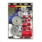 Braided Hose Sleeve Kit-red