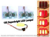 1964-66 Mustang LED Sequential Tail Light Kit (Easy Install)