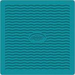 1955-56 CHEVY FACTORY ACCESSORY FLOOR MATS - TURQUOISE