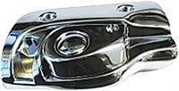 CONVERTIBLE RIGHT HAND CHROME SUNVISOR SUPPORT BRACKET