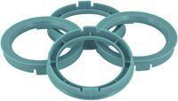 Centerring 671- > 601mm Lightblue