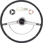 1966 IMPALA STEERING WHEEL KIT BLACK