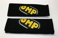 PAIR BELT PADS BLACK 3""
