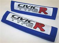 Seatbelt Pads Civic Type R Blue