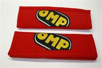 PAIR BELT PADS RED 3""