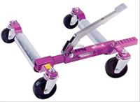 Go Jack System, Car Jack, Movable, Foot Pump, Purple, Fits Tires up to 13 in., Right Hand