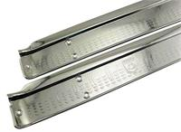 57-8 Ford Scuff Plate/rear 4dr