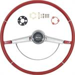 1965 IMPALA STEERING WHEEL KIT RED
