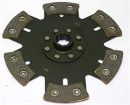 6-puck 240mm clutch disc with hub B (28,6mm x 10)