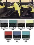 1957 BA 4Dr Sd Yel Seat Covers