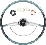 1966 IMPALA STEERING WHEEL KIT TWO TONE BLUE