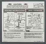 Jack Instruct Sheet,Htp/Sdn,63
