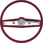 1969-70 STEERING WHEEL (RED)