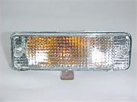 Bumper Lights Clear / Chrome