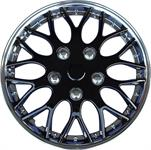 "Hubcaps Missouri 15"" Chrome / Ice Black"