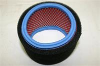 High Performance, Stock Replacement Airfilter Vortex round Filter ( 180x97x103mm ) ( Px1689 )