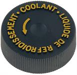 cap to coolant reservoir