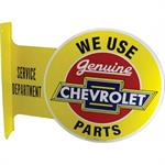 metal sign, Genuine Chevrolet Parts