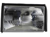 1987-93 Mustang Headlamp Assembly LH (Without Bulb)